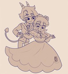 """maiky-vs-tfoe: """"Everyone was asking me to draw Dylan and Turdina so I did."""