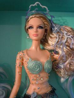 Barbie Mermaid Doll Gold Label Doll 2012 | eBay