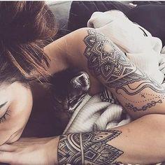 Trendy Arm Tattoos 2018 for Women #armtattoosforwomen