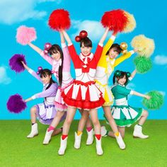cute picture. Momoiro Clover Z ももいろクローバーZ