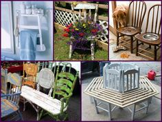 Recycled Old Chair Projects – DIY Ideas   E-BAYZON