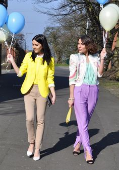 We should take a photoshoot wearing only pastels!