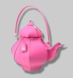 Pink Teapot Bag Wonder If It Would Hold My Sketchpad