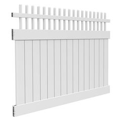 Shop Barrette Select 42 In X 8 Ft White Gothic Picket