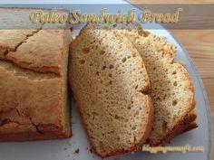 Paleo Sandwich Bread - moist and light! perfect bread! #paleo #scd