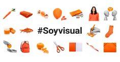 #Soyvisual está formado por láminas ilustradas, fotografías y materiales adaptados para estimular el lenguaje y ayudar a personas con necesidades en la comunicación Spanish 1, France, Texts, Mindfulness, Illustration, Poster, Kids, Aba, Sentence Building