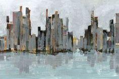 cityscape impressionism
