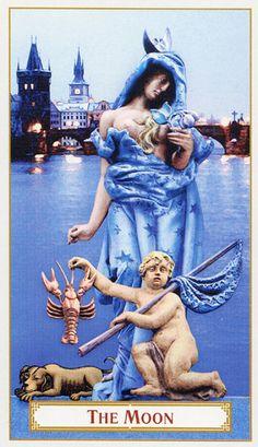 Tarot of Prague ► The Moon