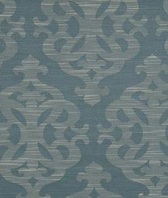 Robert Allen Contract Modern Shapes Wedgewood Fabric - $35.14 | onlinefabricstore.net