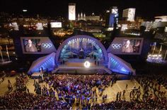 olympics stage opening night - Google Search