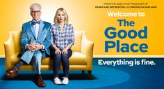 The Good Place: NBC Promos Ted Danson/Kristen Bell Comedy ...
