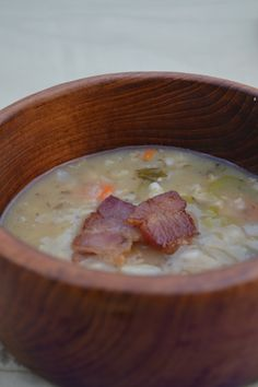 ~ Medieval food ~ Barley pottage from our Medieval feast.