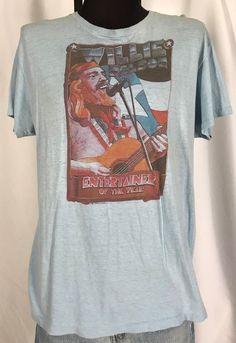 27a55306 Original 1980 Vintage WILLIE NELSON Tee Shirt Large #Hanes #GraphicTee  Willie Nelson, Vintage
