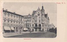 Forst Lausitz, am Berlinerplatz, um 1905