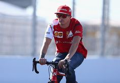 Maybe Nando is interested in signing #Kimi for his cycling team? XD #RussianGP