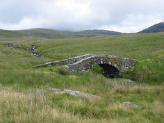A bridge (Pont-Scethin) on the old Harlech - London pack route