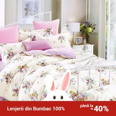Lenjerie de pat din bumbac Valentini Bianco TB010/58 Comforters, Blanket, Bed, Furniture, Home Decor, Creature Comforts, Quilts, Decoration Home, Stream Bed