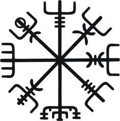 Viking compass   Who ever has this mark will always find there way!!