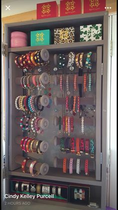 How To Choose Your Jewelry Armoire Jewellery Storage, Jewellery Display, Jewelry Organization, Closet Organization, Rustic Cuff, Bracelet Display, Jewelry Armoire, Jewelry Cabinet, Rustic Jewelry