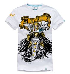 DOTA 2 Invoker Heroes Tees Mens White T-shirts | Wishining