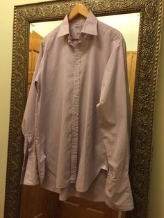 Thomas Pink dress shirt, Size: 16 36 41/91, 100% Cotton, Made in Ireland #ThomasPink