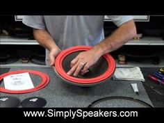 Speaker Repair and Replacement of Foam Surrounds on Cerwin Vega and Others Speaker Box Design, Bluetooth Speakers, Car Audio, Home Improvement, Repurpose, Reuse, Circuits, Car Stuff, Diy Projects