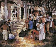 """""""Juneteenth"""", Painting by G. Rose"""