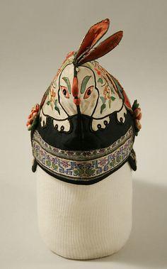 Cap - late 19th century - Chinese