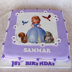 Princess Sofia cake by Cutie Cakes