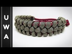 How to make a Bootlace Paracord Survival Bracelet [MAD MAX STYLE] [NO BUCKLE NEEDED] - YouTube