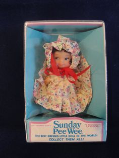 Vintage Uneeda Sunday Pee Wee Doll by AJourneyThroughTime on Etsy, $14.00