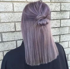 22 new gorgeous hair color trends for 2019 - new ideas - hair - # for . - 22 new gorgeous hair color trends for 2019 – new ideas color trends - Balayage Hair, Ombre Hair, Gray Hair, Lavender Grey Hair, Black Hair, Gorgeous Hair Color, Dye My Hair, Dyed Hair Ends, Pretty Hairstyles