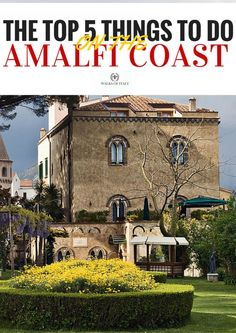The villa Cimbrone is one of the must-see sights on the Amalfi Coast. Check out some of the other best things to see in our blog.