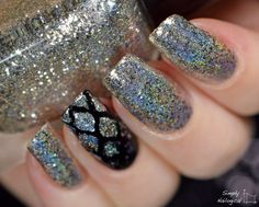 1st anniversary heaven ~ Holo glitter heaven with fun s st anniversary collection by