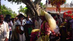 #Traditional #village #festival #celebration near #chukki #Mane