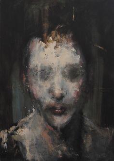 "Saatchi Online Artist Jean-Luc Almond; Painting, ""Plastic"" #art"