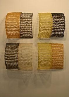 Yvette Kaiser Smith..crocheted fiberglass sculpture