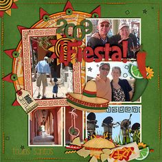 scrapbook layouts mexico - Google Search
