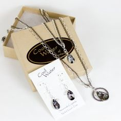 Cool Water Jewelry Silver Lake Collection