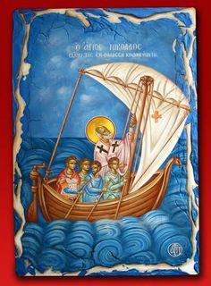 Early Christian, Saint Nicholas, Religious Icons, Orthodox Icons, Patron Saints, Roman Empire, Ancient Greek, Ikon, Crochet Baby