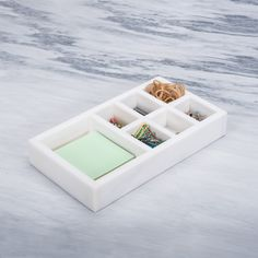 Marble Multi-function Desk Stationery Organizer Desk Stationery, Marble, Container, Polaroid Film, Organization, Getting Organized, Organisation, Granite, Tejidos