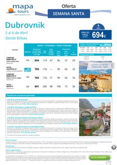 Estancia en Dubrovnik Semana Santa salida Bilbao **Precio Final desde 694** ultimo minuto - http://zocotours.com/estancia-en-dubrovnik-semana-santa-salida-bilbao-precio-final-desde-694-ultimo-minuto/