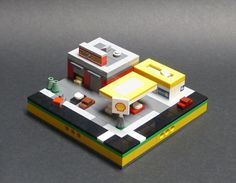 All sizes | Micropolis - Shell Station and Garage | Flickr - Photo Sharing!