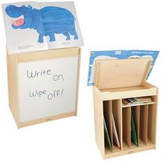#PinIt2WinIt Big Book Easel/Storage Unit