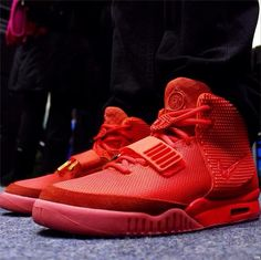 Red Octobers Yeezy 2