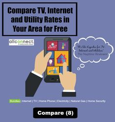 This service is like the Expedia for TV and Internet providers.  It lets you compare rates in your area for free.