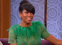 Regina King Talks to Wendy Williams About Her Love Life—Would She Date a Plumber? Watch!  Regina King, Wendy Williams