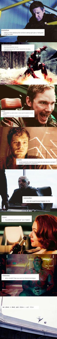 Tumblr relates Avengers