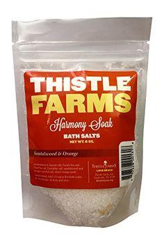 Thistle Farms Essential Oil Bath Salts (1, Harmony Soak (Sandalwood & Orange))