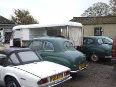 1971/2 Triumph Spitfire Mk IV and Austin A30 and A35 2 door saloons